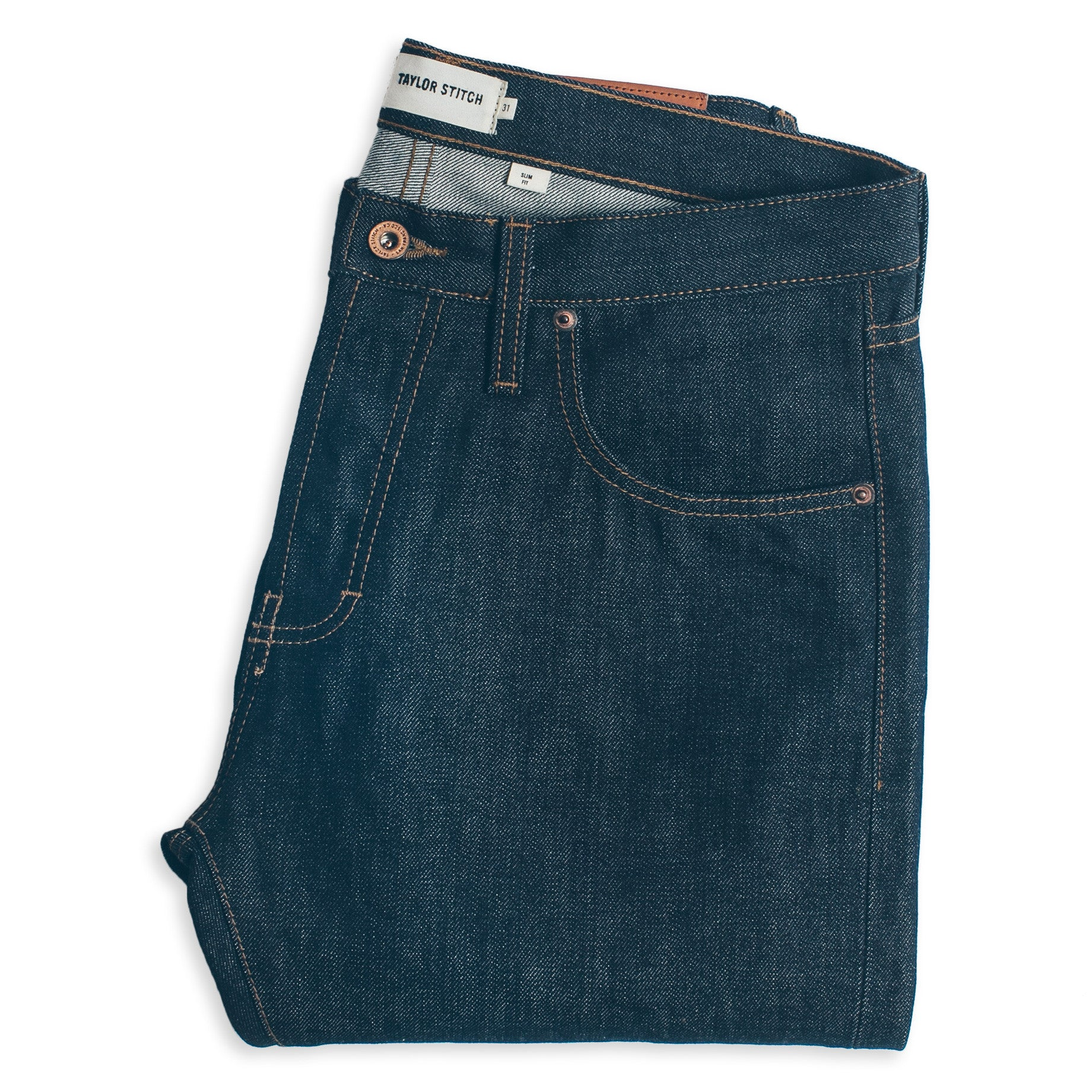 Image of THE SLIM JEAN<br> IN CONE MILLS '68 SELVAGE