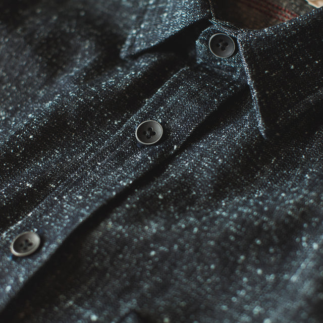 The Utility Shirt in Heavy Slub Denim