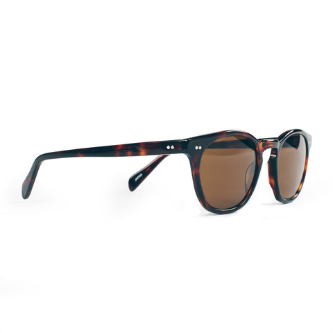The Legend in Brown Tortoise with Amber Lenses - featured image