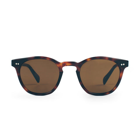 The Legend in Brown Tortoise with Amber Lenses - alternate view