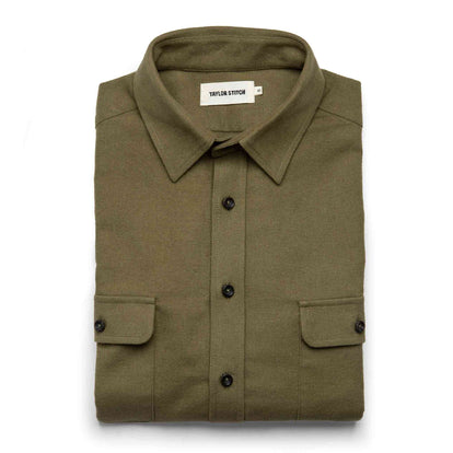 The Yosemite Shirt in Dusty Army: Featured Image