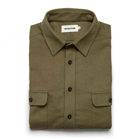The Yosemite Shirt in Dusty Army - featured image