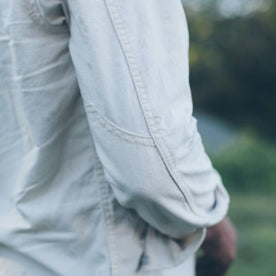 The Chore Shirt in Natural: Alternate Image 4