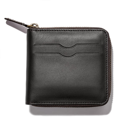 The Zip Wallet in Black