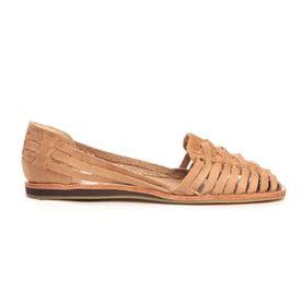 Ecuador Huarache Sandal in Almond: Featured Image