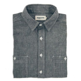 The California in Charcoal Everyday Chambray - featured image