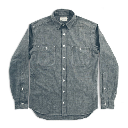 The California in Charcoal Everyday Chambray: Alternate Image 7