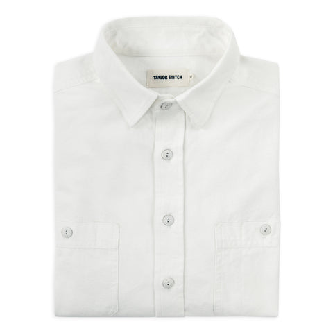 The California in White Everyday Chambray - featured image
