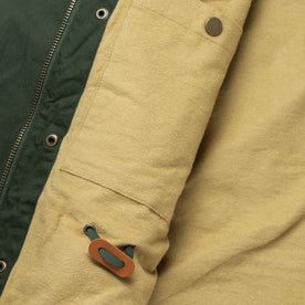 The Harris Jacket in Forest Dry Wax: Alternate Image 10