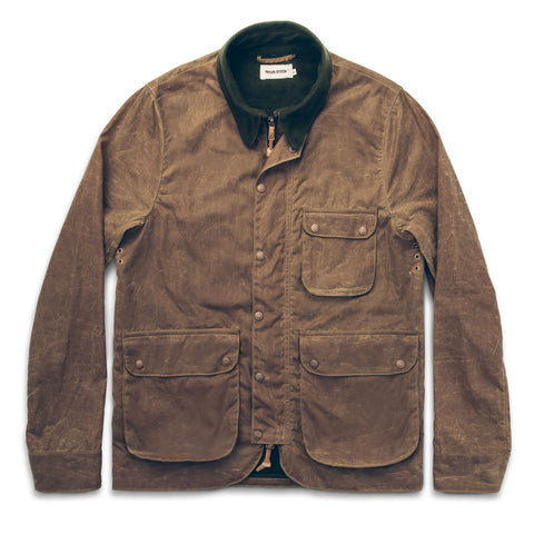 The Rover Jacket in Field Tan Waxed Canvas - featured image