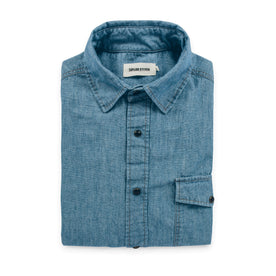 The Oxnard in Sun Bleached Chambray: Featured Image
