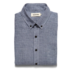 The Jack in Navy Mini Gingham Linen