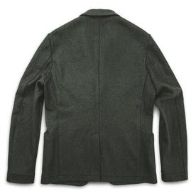 The Telegraph Jacket in Olive Wool: Alternate Image 6