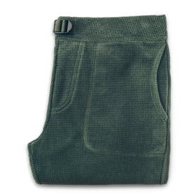 The Pack Pant in Olive Polartec Fleece: Featured Image