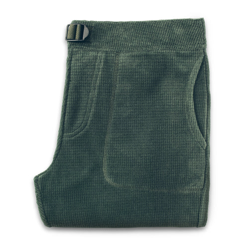 The Pack Pant in Olive Polartec Fleece - featured image