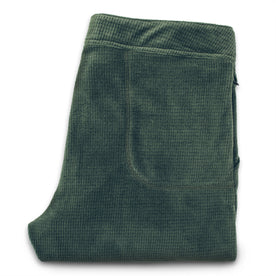 The Pack Pant in Olive Polartec Fleece: Alternate Image 6