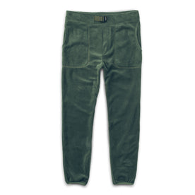 The Pack Pant in Olive Polartec Fleece: Alternate Image 7