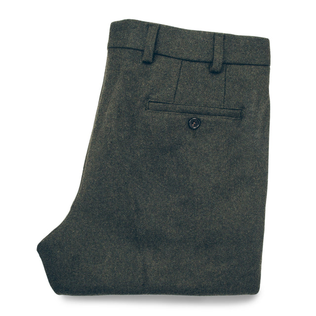 The Telegraph Trouser in Olive Wool