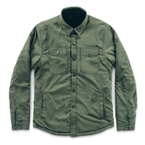 The Albion Jacket in Army - featured image