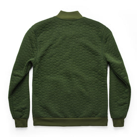 The Inverness Bomber in Olive Knit Quilt: Alternate Image 9