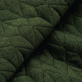 The Inverness Bomber in Olive Knit Quilt: Alternate Image 7