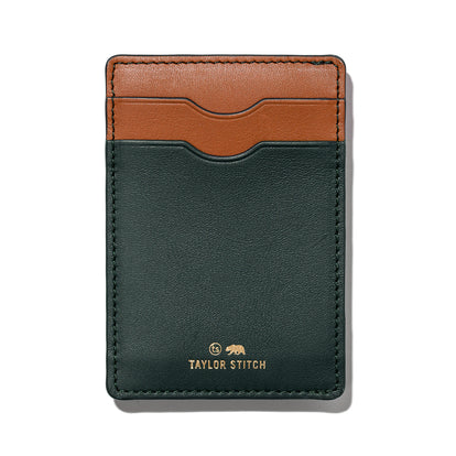 The Minimalist Wallet in Evergreen: Featured Image