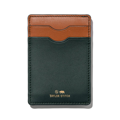 The Minimalist Wallet in Evergreen - featured image