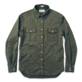 The Glacier Shirt in Olive Twill: Alternate Image 3