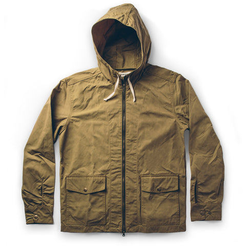 The Beach Jacket in Olive - featured image