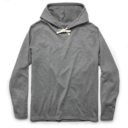 The Heavy Bag Hoodie in Heather Grey: Featured Image