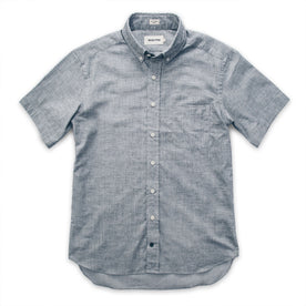 The Short Sleeve Jack in Steel Chambray: Alternate Image 8
