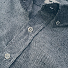 The Short Sleeve Jack in Steel Chambray: Alternate Image 7