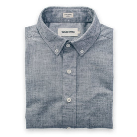 The Short Sleeve Jack in Steel Chambray: Featured Image