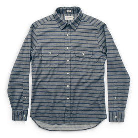 The California in Ash & Navy Stripe