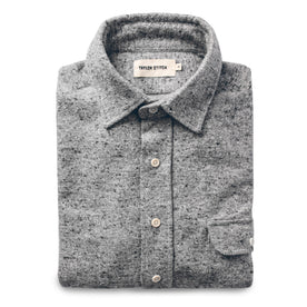 The Sun Down Shirt in Speckled Grey: Featured Image