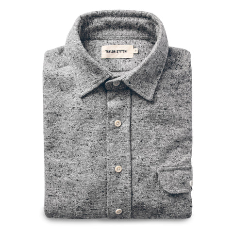 The Sun Down Shirt in Speckled Grey - featured image