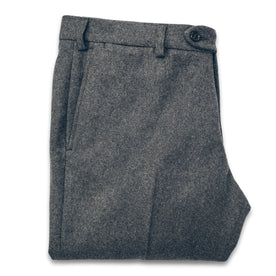 The Telegraph Trouser in Grey Wool: Featured Image