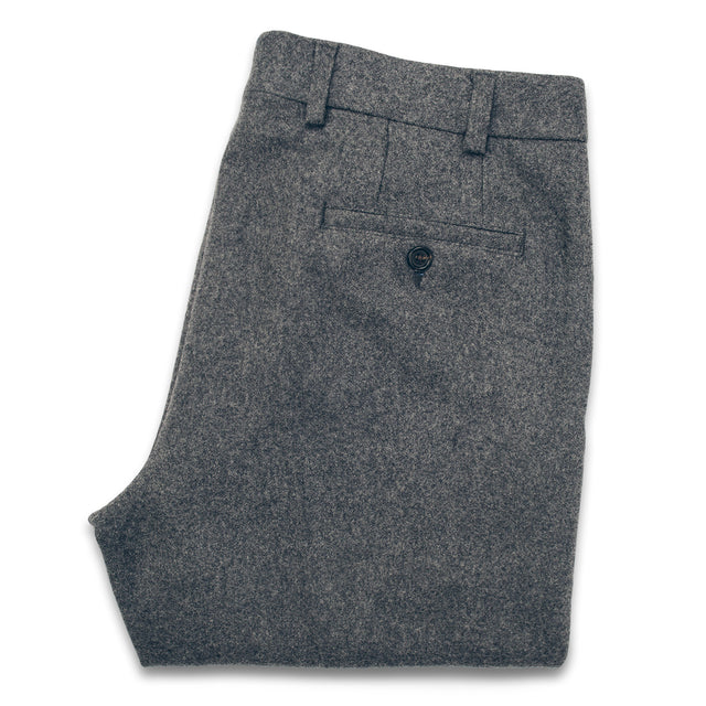 The Telegraph Trouser in Grey Wool