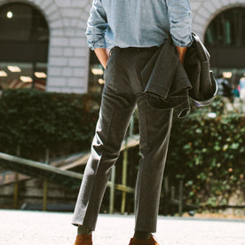 The Telegraph Trouser in Grey Wool: Alternate Image 6