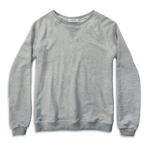 The Weekend Sweatshirt in Heather Grey - featured image