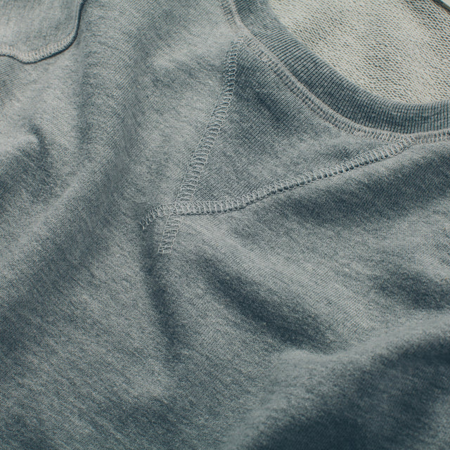 The Weekend Sweatshirt in Heather Grey