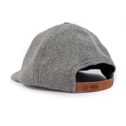 Ash Wool Bear Cap - alternate view