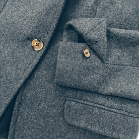 The Telegraph Blazer in Charcoal Wool: Alternate Image 6