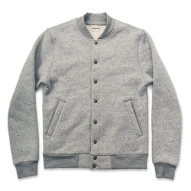 The Bomber in White Fleck Fleece: Featured Image