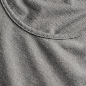 The Elle Crewneck Tee in Heather Grey: Alternate Image 3