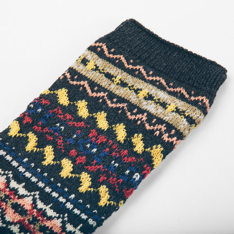 Anonymous Ism Fair Isle - Charcoal - alternate view