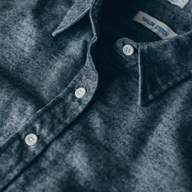 The Katherine in Charcoal Brushed Cotton: Alternate Image 2