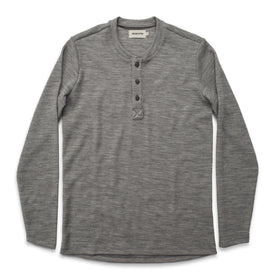 The Henley in Ash Merino Waffle: Featured Image