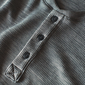 The Henley in Ash Merino Waffle: Alternate Image 5