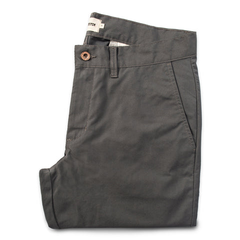 The Travel Chino in Charcoal - featured image